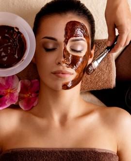 Soins du visage au chocolat ou spéculoos 1h15