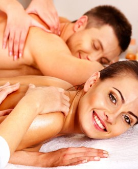 L'évasion formule duo - spa privatif, massages relaxants, dégustation 3h30