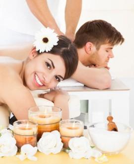Voyage balinais formule duo - spa privatif,massage balinais, 1/2 bouteille de champagne