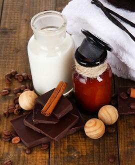 Formule duo - caprice chocolaté 3h30 - spa privatif, champagne, massages, chocolats