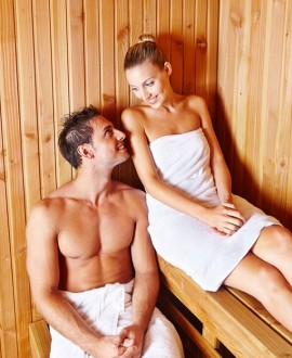 Spa privatif (sauna-hammam-jacuzzi 1h) + 2 massages du dos + thé/fruits secs 2h