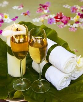 Espace privatif - sauna, hammam, spa 1h30/2 pers + 1/2 bouteille de champagne