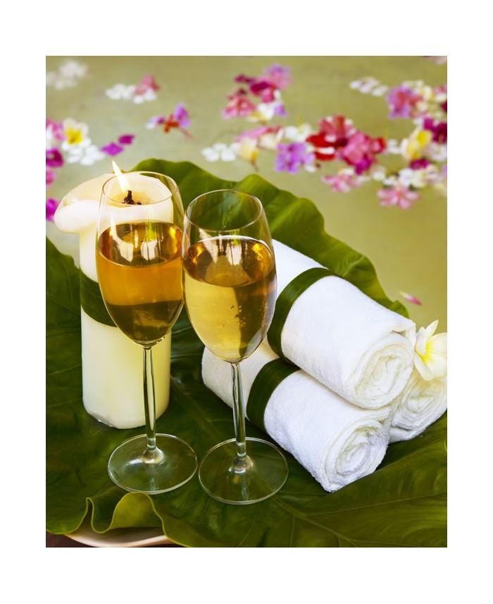 Espace privatif sauna hammam spa 2h 2 pers bouteille de champagne narcissik - Une bouteille de champagne pour combien de personnes ...