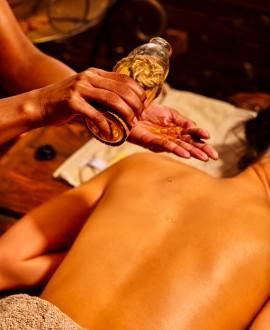 Escale orientale - hammam, gommage, enveloppement, massage corps, thé 2h30